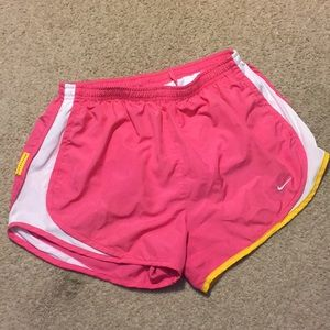 Nike Shorts - Nike Livestrong pink running shorts 🏃🏻♀️ MEDIUM